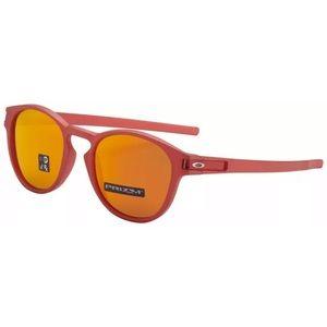 Oakley Latch Sunglasses Ir Red Prizm Ruby Lens